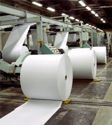 giant rolls of paper